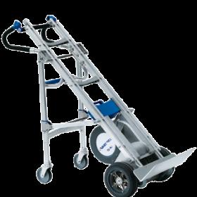акумулаторно устройство Liftkar HD Dolly за изкачване на товари по стълби и система от помощни колела