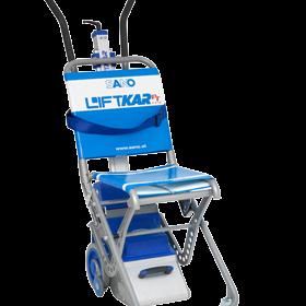 устройство за изкачване на хора по стълби Liftkar PT Fold 130, сгъваемо