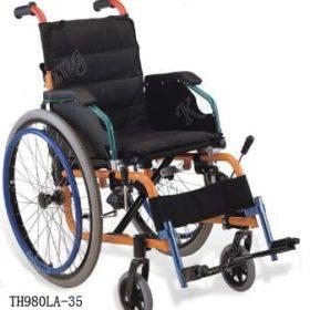 Детска рингова инвалидна количка 980LA-35
