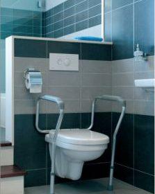 опорна рамка за тоалетна