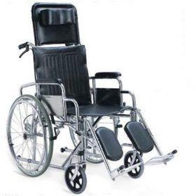 "Инвалидна количка с падащ гръб тип ""легло"""