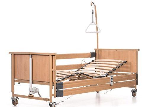 Дая Медицински Изделия Електрическо болнично легло Dali Германия с четири функции и регулируем наклон