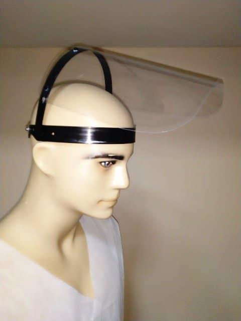 Лек предпазен шлем с повдигащ се визьор за многократна употреба