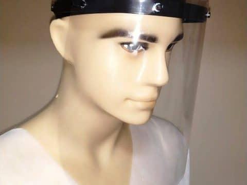 Дая Медицински Изделия Лек предпазен шлем с повдигащ се визьор за многократна употреба