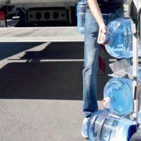 транспортна количка MODULKAR за транспорт на галони с вода