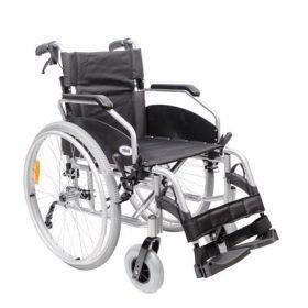 Инвалидна количка - алуминиева, олекотена (46 см)