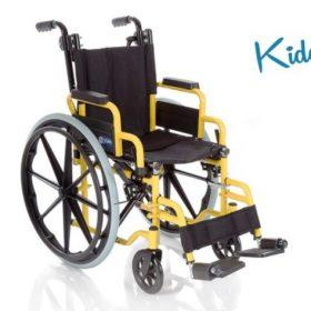Детска рингова сгъваема инвалидна количка серия Kiddy