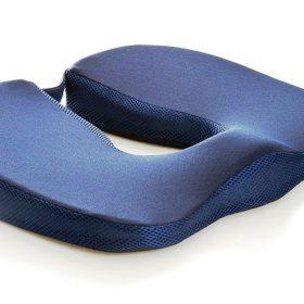 Възглавница за седене с мемори пяна срещу хемороиди и защита на простатата